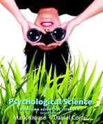 Psychological Science : Modeling Scientific Literacy (Paperback) - Mark Krause
