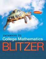 Pathways to College Mathematics Access Card Package : Pathways Solutions - Robert F Blitzer