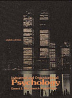 Industrial and Organizational Psychology - Ernest J. McCormick