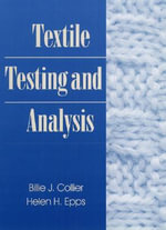 Textile Testing and Analysis - Billie J. Collier