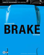 Automotive Brake Systems - James D. Halderman