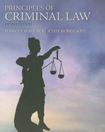 Principles of Criminal Law - Harvey Wallace