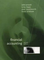 Financial Accounting - John Arnold