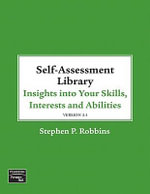 Self Assessment Library 3.4 for Sales Management : Insights Into Your Skills, Interests and Abilities [With CDROM] - Stephen P. Robbins