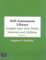 Self Assessment Library 3.4 for Supervision Today! - Stephen P. Robbins