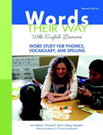 Words Their Way with English Learners : Word Study for Phonics, Vocabulary, and Spelling - Lori Helman