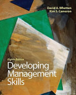 Developing Management Skills - David A. Whetten