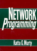 Network Programming - Katta B. Murty