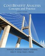 Cost-Benefit Analysis :  Concepts and Practice - Anthony E. Boardman
