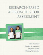Research-Based Approaches for Assessment - John W. Lloyd