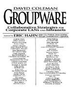 Groupware : Collaborative Strategies for Corporate LANS and Intranets - David Coleman