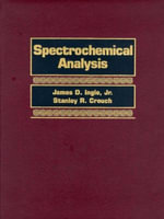 Spectrochemical Analysis - James D. Ingle