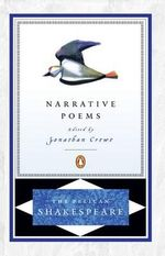 The Narrative Poems : The Pelican Shakespeare - William Shakespeare