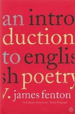 An Introduction to English Poetry - James Fenton