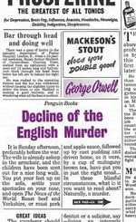 Penguin Books Great Ideas : Decline of the English Murder :  Decline of the English Murder - George Orwell