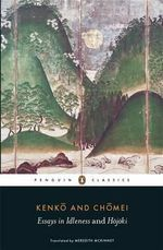 Essays in Idleness : And Hojoki