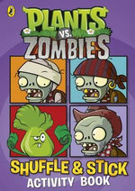 Plants vs. Zombies : Shuffle & Stick Activity Book - Sunbird