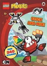 Lego Mixels : Stick and Mix Sticker Activity Book - Dorling Kindersley