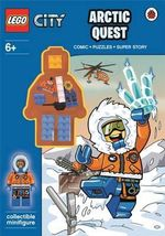 Lego City : Arctic Quest Activity Book With Minifigure - Ladybird