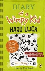 Hard Luck : Diary of a Wimpy Kid : Book 8  (Book & CD) - Jeff Kinney