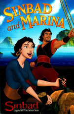 Sinbad and Marina : Sinbad Legend Of The Seven Seas - Cathy Hapka