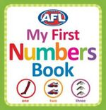 AFL - My First Numbers Book - AFL