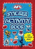 AFL : Sticker Activity Book : Over 70 Stickers Inside! - AFL