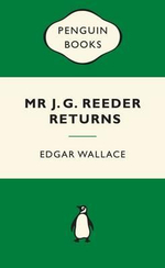 Mr J.G. Reeder Returns : Green Popular Penguins - Edgar Wallace