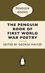 Penguin Book WWI Poetry : War Popular Penguins