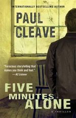 Five Minutes Alone - Paul Cleave