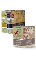 The Iliad, Odyssey, and Aeneid Boxed Set (Three volumes in slipcase) : Penguin Classics Deluxe Edition - Virgil