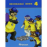 Harcourt School Publishers Trophies : Decodable Book Bk4 G1 - HSP