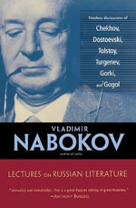 Lectures on Russian Literature - NABOKOV VLADIMIR