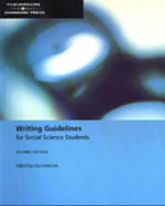 Writing Guidelines for Social Science Students - Lisa Emerson