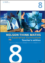Nelson Think Maths 8 Teacher Edition Plus Access Card - Sue Garner
