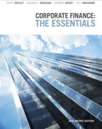 Corporate Finance : The Eessentials Asia-Pacific Edition - Darren Henry