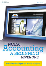 NCEA Accounting, a Beginning : Level One - Lilian Viitakangas