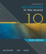 Accounting : to Trial Balance - Neville Poustie