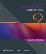 Accounting : Basic Reports - Neville Poustie