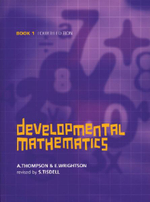 Developmental Mathematics Book 1 - Alan Thompson