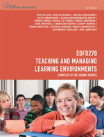 CP0895 - EDFD270 Teaching and Managing Learning Environments - Roy Killen