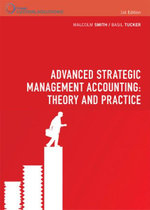 PP0888 : Advanced Strategic Management Accounting: Theory and Practice - Malcolm Smith