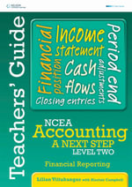 Accounting A Next Step - Financial Reporting Teacher's Resource Book - Lilian Viitakangas