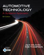 Bundle : Automotive Technology : A Systems Approach + Tech Manual + Coursesmart eBook Printed Access Card for 3 Years - Jack Erjavec