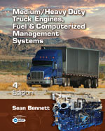 Bundle : Medium/Heavy Duty Truck Engines, Fuel & Computerized Management Systems + CourseMate 1-Year Printed Access Card for Bennett's Medium/Heavy Duty Truck Engines, Fuel & Computerized Management Systems,  4th - Sean Bennett