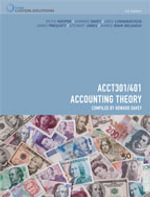CP0940 - ACC301/401 Accounting Theory - Keith Hooper
