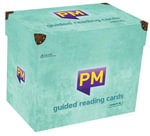 PM Reading Cards Level 17-18 Turquoise X20