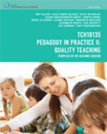 Cp0954 - Tch10135 Pedagogy in Practice : Quality Teaching - Julie Hinde-McLeod