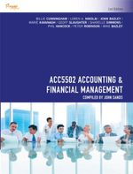 Cp1019 - Acc5502 Accounting and Financial Management - Mike Bazley