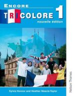 Encore Tricolore 1 : Students' Book Stage 1 - Sylvia Honnor